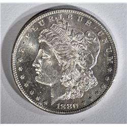 1880-S MORGAN DOLLAR CH BU PL