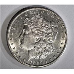 1897-S MORGAN DOLLAR BU