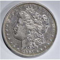 1901 MORGAN DOLLAR XF/AU