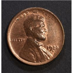 1920-D LINCOLN CENT CH BU RB