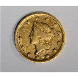 1849 D $1.00 GOLD  AU