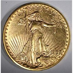 1909-D $20.00 SAINT GAUDENS GOLD  CH BU