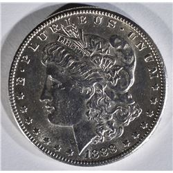1888-S MORGAN DOLLAR BU CLEANED