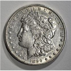 1899 MORGAN DOLLAR XF CLEANED