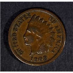 1908-S INDIAN HEAD VG/FINE - KEY COIN