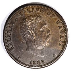 1883 HAWAII QUARTER, AU