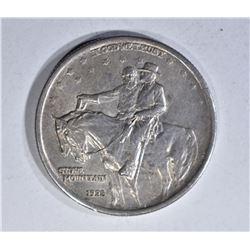 1925 STONE MOUNTAIN HALF DOLLAR, CH BU