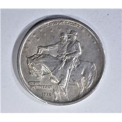 1925 STONE MOUNTAIN HALF DOLLAR, CH BU