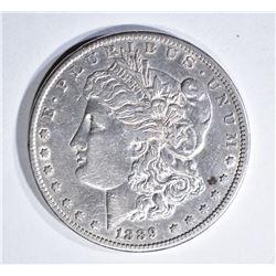 1889-CC MORGAN DOLLAR, XF/AU KEY DATE