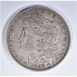 1893-O MORGAN DOLLAR, ORIGINAL VF!