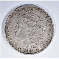 1893-O MORGAN DOLLAR, ORIGINAL VF!