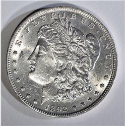 1892 MORGAN DOLLAR BU