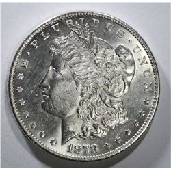 1878-S MORGAN DOLLAR CH BU FLASHY