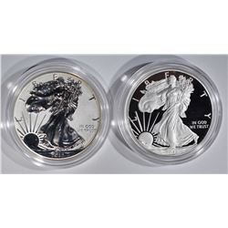 2012 SAN FRANCISCO  2-PCS SILVER EAGLE SET