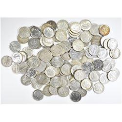 $10.00 FACE VALUE 90% SILVER DIMES 1964 & EARLIER