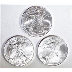3-1999 BU AMERICAN SILVER EAGLES