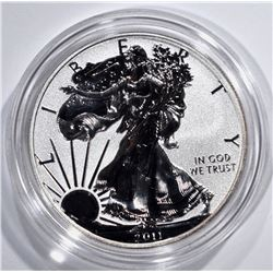 2011-P REVERSE PROOF AMERICAN SILVER EAGLE