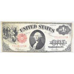 1917 $1.00 LEGAL TENDER VG+