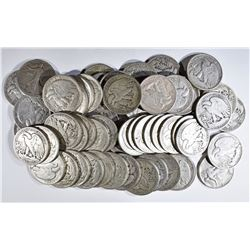 55 PCS WALKING LIBERTY HALF DOLLARS