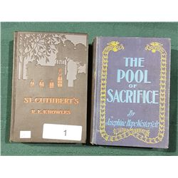 TWO FIRST EDITION 1930'S HARD COVER NOVELS