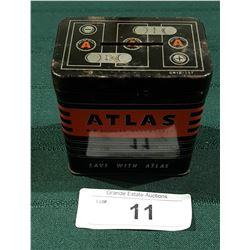 1950'S ATLAS CAR BATTERY BANK