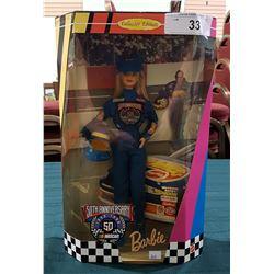 50TH ANNIVERSARY NASCAR BARBIE