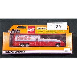 COCA COLA MATCHBOX BUS