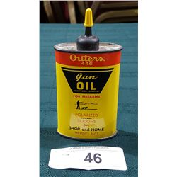 VINTAGE OUTER'S GUN OIL TIN