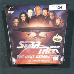 "STAR TREK ""A FINAL UNITY"" COMPUTER GAME"