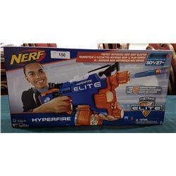 NERF HYPERFIRE GUN