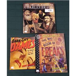 3 SOFT COVER COLLECTIBLE BOOKS