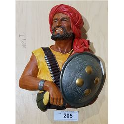 LARGE BOSSONS PATHAN PLAQUE