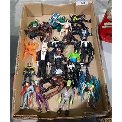 APPROX 22 SPIDERMAN ACTION FIGURES