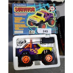 "RADIO SHACK R.C. ""SURVIVOR"" TRUCK"