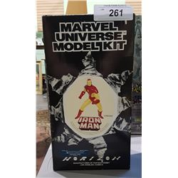 MARVEL UNIVERSE IRON MAN MODEL KIT IN ORIGINAL BOX