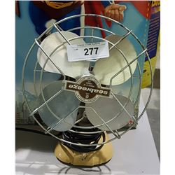 VINTAGE SEABREEZE METAL FAN