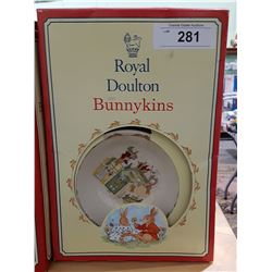 ROYAL DOULTON BUNNYKINS CHILDRENS SET