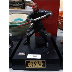STAR WARS DARTH MAUL TALKING COIN BANK