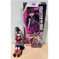 TWO MONSTER HIGH DOLLS-ONE NEW IN BOX