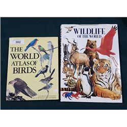 2 HARD COVER ANIMAL BOOKS