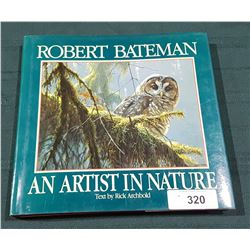 "HARD COVER ROBERT BATEMAN ""AND ARTIST IN NATURE"" BOOK"