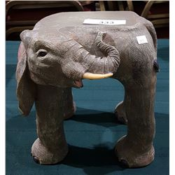 FIGURAL ELEPHANT PLANT STAND