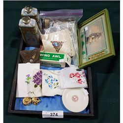 TRAY LOT OF COLLECTIBLES