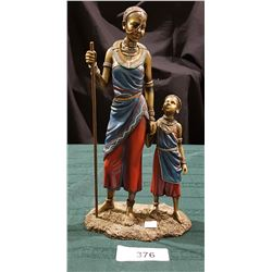 MASAI FIGURINE MOTHER AND CHILD