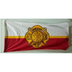 VANCOUVER FIRE DEPARTMENT FLAG