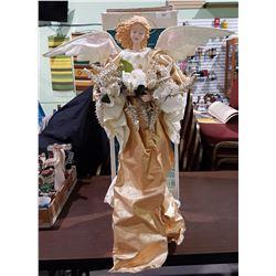 "36"" CHRISTMAS ANGEL W/ORIGINAL BOX"