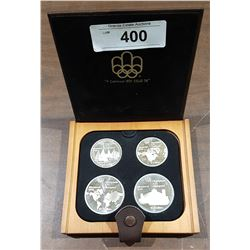 1976 MONTREAL OLYMPICS STERLING SILVER CANADIAN COIN PROOF SET