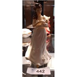 ROYAL DOULTON SWEET BOUQUET FIGURINE SIGNED