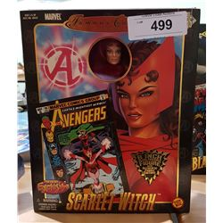 """NEW IN BOX MARVEL FAMOUS COVER SERIES SCARLETT WITCH 8"""" ACTION FIGURE"""