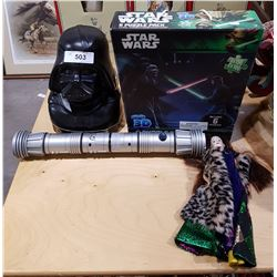 LOT OF 4 STAR WARS COLLECTIBLES
